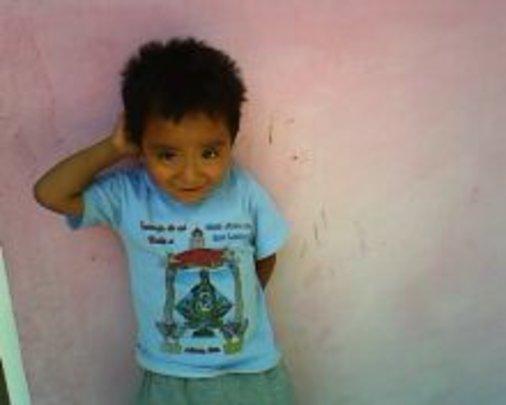A lively little boy