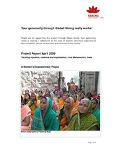 Project Report May 2009 (PDF)