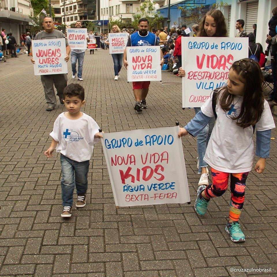 169th parade in the city of Blumenau, Brazil