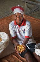 Liberia feed mill worker