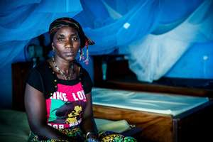 Kulako, an Ebola survivor in Sierra Leone