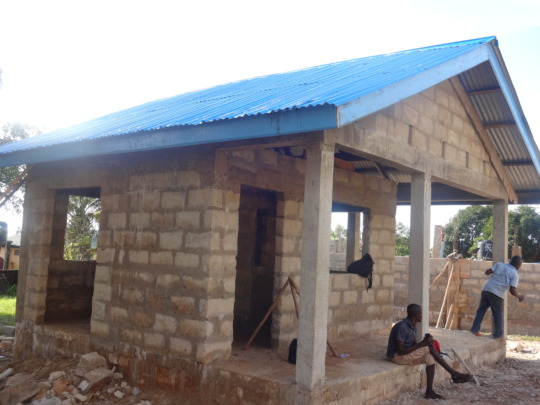 Zinc Roof completed