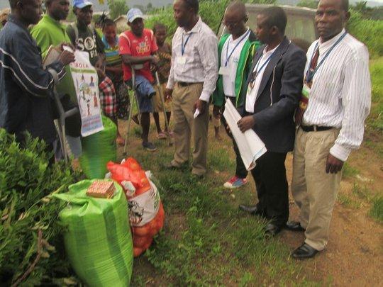 9 communities given food by GGM SL staff