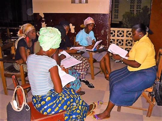 Health Manual Workshop in Liberia