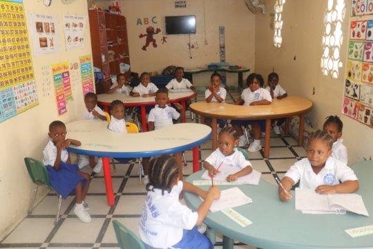 Tour of B. W. Harris Kindergarten Classroom