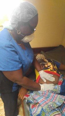 Prenatal exam IHI Clinic