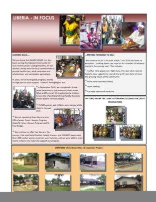 Imani Speaks Newsletter 2010