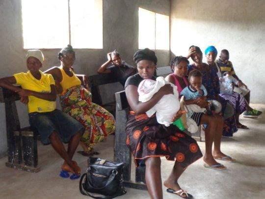 IHI Mobile Health Team - Mothers Await Treatment