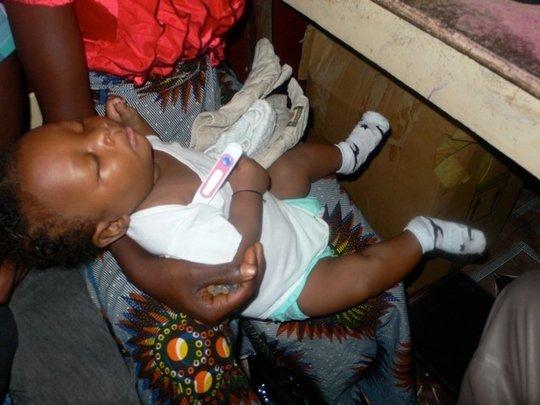 Infant clinic visit