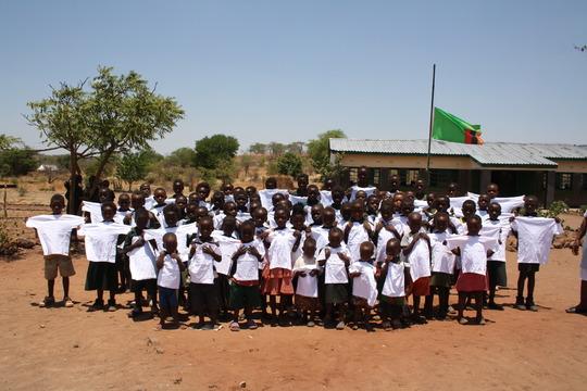 Repellent t-shirts - Mahalulu Pupils
