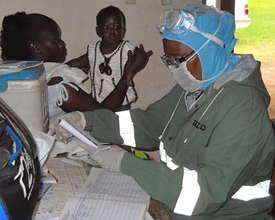 What questions do you have about Ebola Relief?