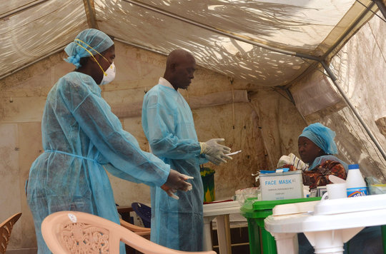 GlobalGiving Ebola Epidemic Relief Fund