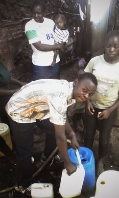 Raphael Getting Water