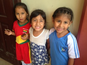 Chapare another trio of girls