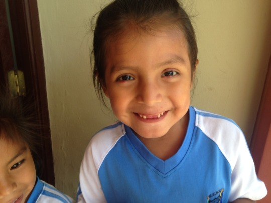 Chapare child lucky to receive dental care