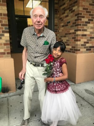 """Grandpa Sam with """"Gi"""""""