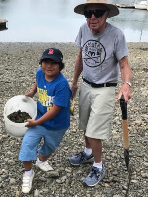 Grandpa Sam with Andre