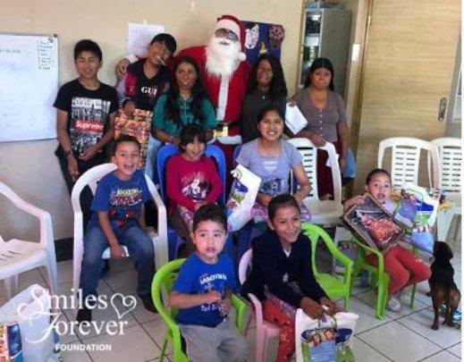 Santa brings gifts for deserving Bolivian children