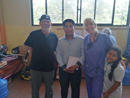 Visit of Principal C. Aroja from Heroes del Chaco
