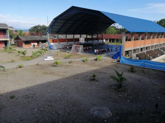 Heroes del Chaco - San Antonio School facilities