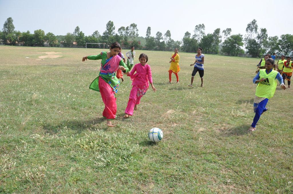 Empower Girls in India Through Sports