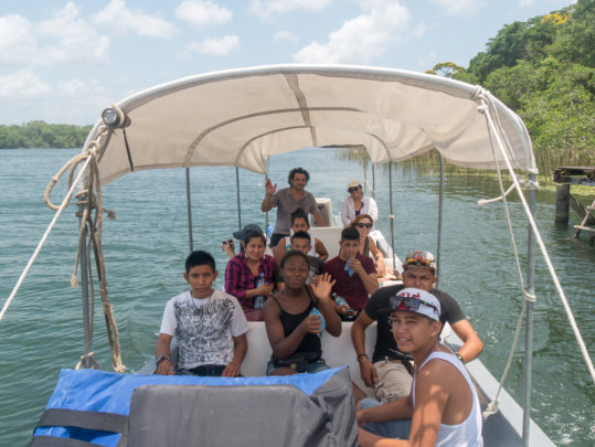 Photo class on Cocoli Bay