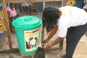 Handwashing continues...