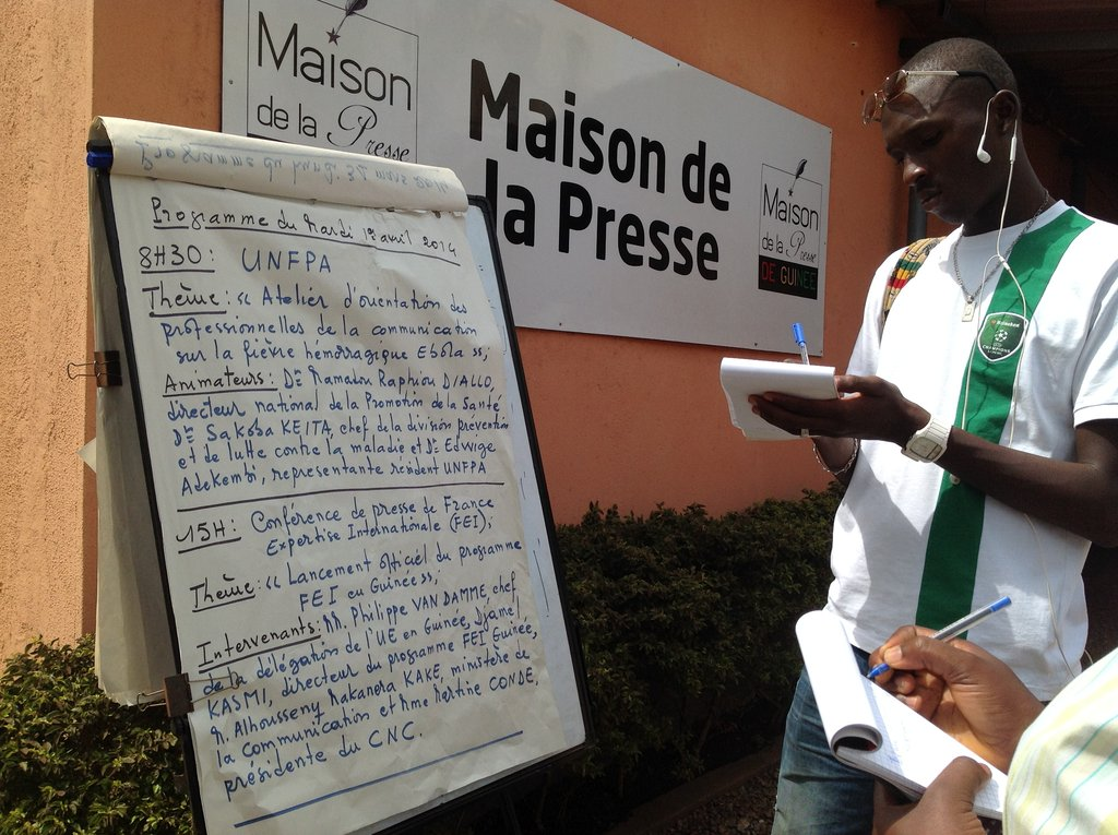 Info Saves Lives: Ebola Outbreak in West Africa