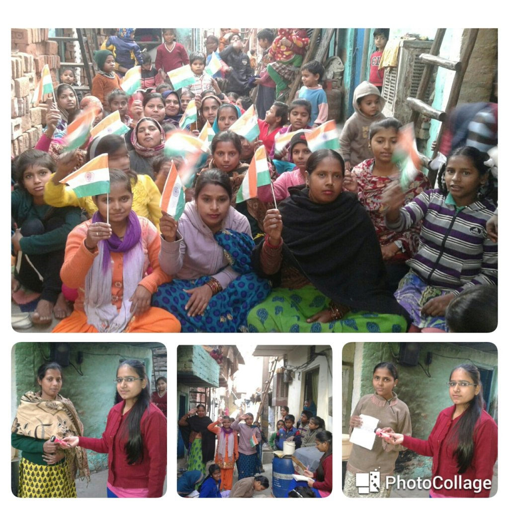 Republic Day Celebrated at Women Literacy Center