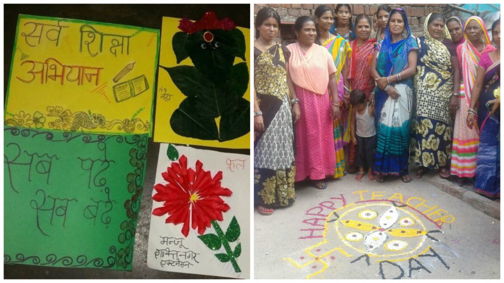 Cards Making on Teachers Day