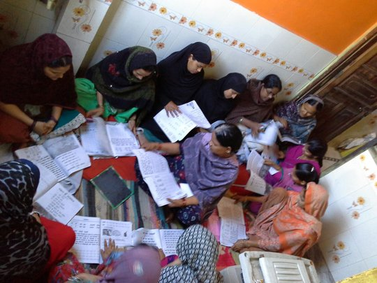 Providing Functional Literacy to Women in India