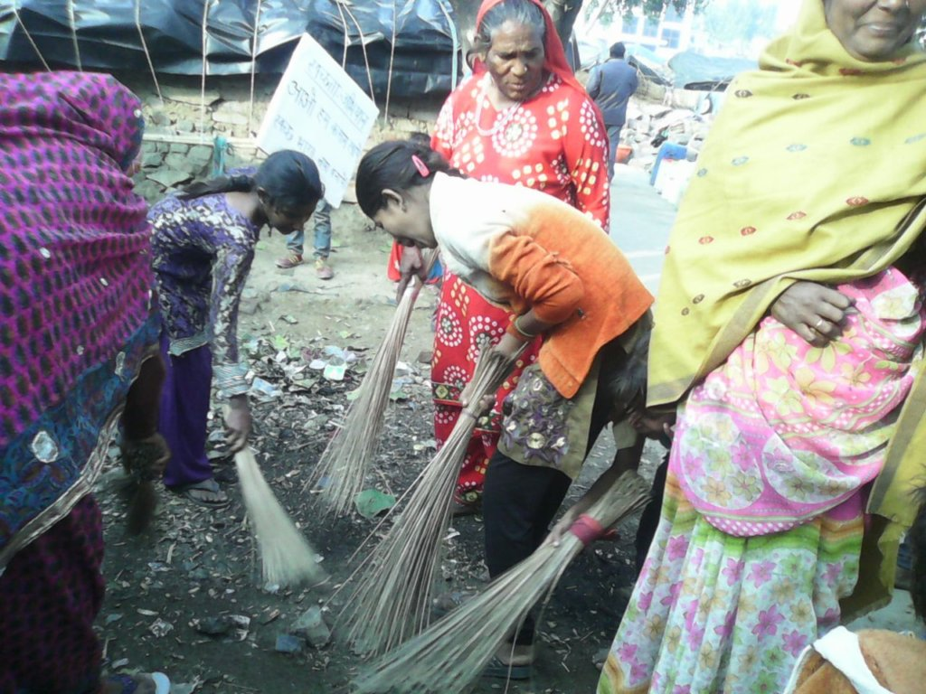 Cleanliness Campaign in Slums
