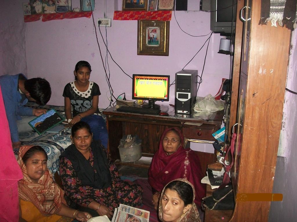 women attend the class room at our Adult Literacy