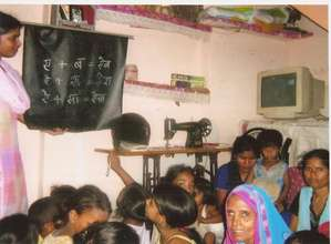 Literacy centre Dakhshinpuri, Delhi