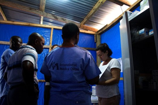 Ebola Treatment Unit, Bong County, Liberia