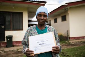 Comfort spent 17 days in the Ebola Treatment Unit