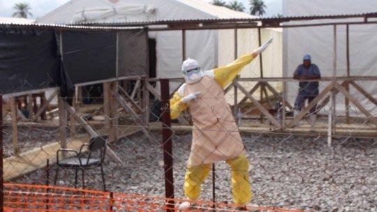 Ebola worker celebrates Adama