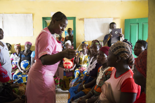 Maternal and child health aides training