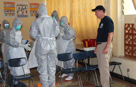 Personal protection equipment training