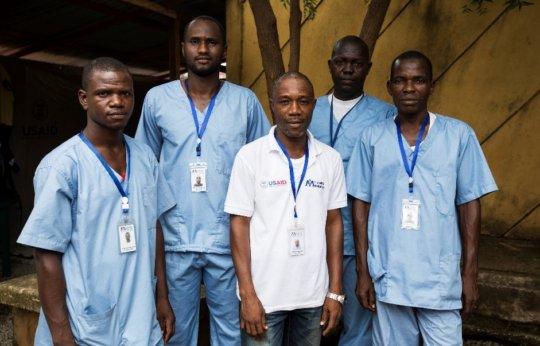 Rapid Response Team in Ratoma, Guinea