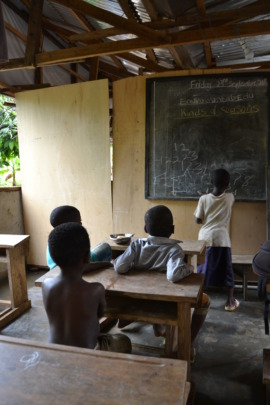 The school you helped to build