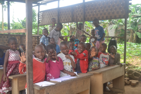 Classroom at Hope Alive Foundation