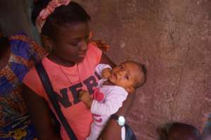 This is Mah, the youngest girl in the orphanage