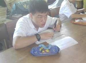 Doing examination