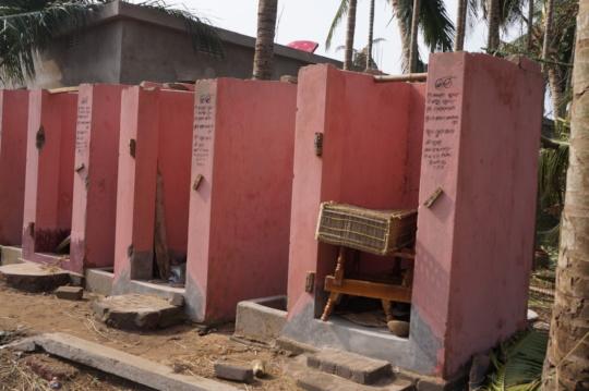 Fani affected School building