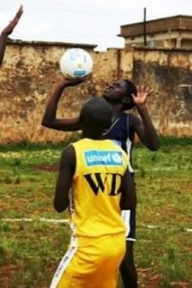 Girls' netball in Gulu municipality
