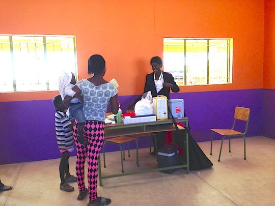 Orange classroom / immunisation program