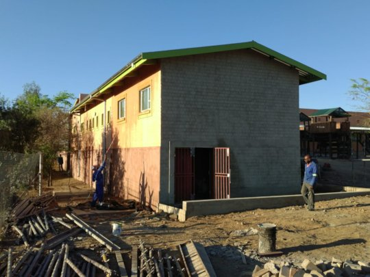 Building is finished