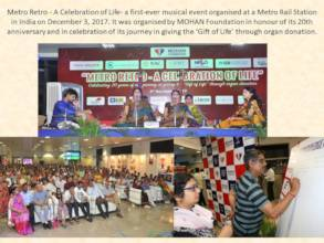India's first musical concert at metro station