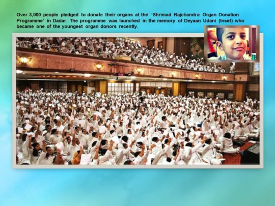 Deeyan inspires thousands to pledge